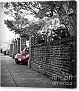 Red Mini Cooper- The Debut Canvas Print