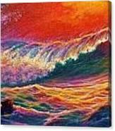 Red Mist Canvas Print