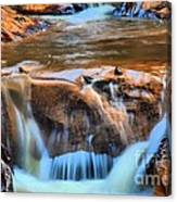 Red Mountain Creek Canvas Print