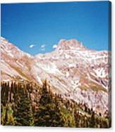 Red Mountain Pass Canvas Print