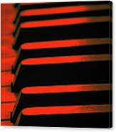 Red Piano Canvas Print