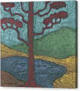 Red Ponderosa Canvas Print