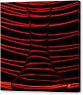 Red Rhythm Canvas Print
