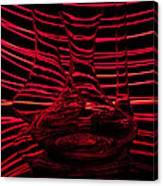 Red Rhythm IIi Canvas Print