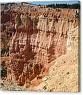 Red Rock Bryce Canyon  Canvas Print