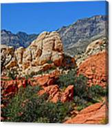 Red Rock Canyon 5 Canvas Print