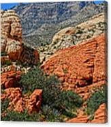 Red Rock Canyon 6 Canvas Print