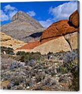 Red Rock Canyon Nevada Canvas Print