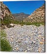 Red Rock Canyon V Canvas Print