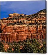 Red Rock Crag Canvas Print