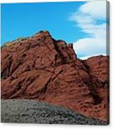 Red Rock Canvas Print