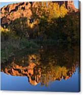 Red Rock Reflections Canvas Print