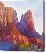 Red Rock Ridge Canvas Print