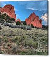 Red Rock Sunrise Canvas Print