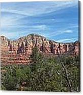 Red Rock Views Canvas Print