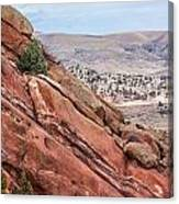 Red Rocks 2 Canvas Print