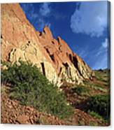 Red Rocks 4 Canvas Print