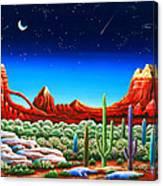 Red Rocks 5 Canvas Print