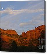 Red Rocks In Sedona Canvas Print