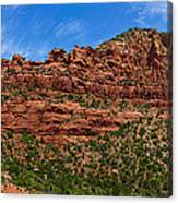 Red Rocks Of Sedona  Canvas Print
