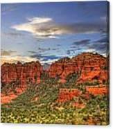 Red Rocks Sunset Canvas Print