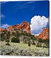 Red Rocks In Colorado Canvas Print