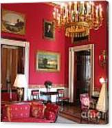 Red Room White House Canvas Print