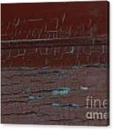 Red Rune Rubrics Canvas Print