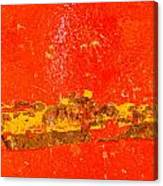Red Rusty Backgound Canvas Print