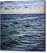Red Sail 2 Canvas Print