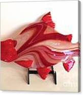 Red Salmon Canvas Print