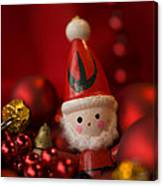 Red Santa Canvas Print