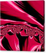 Red Satin Canvas Print