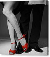 Red Shoes Canvas Print