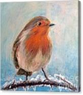 Red Singer Canvas Print