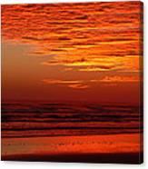Red Sky Dawn Canvas Print