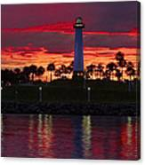 Red Skys At Night Denise Dube Photography Canvas Print