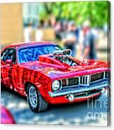 Red Sport Car Canvas Print