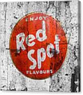 Red Spot Canvas Print