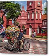 Red Square Malacca Canvas Print