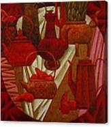 Red Still Life Canvas Print