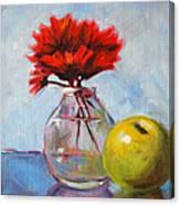 Red Still  Canvas Print