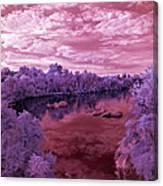 Red Sunrise Canvas Print