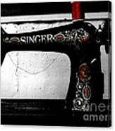 Red Thread Canvas Print