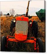 Red Tractor 2 Canvas Print