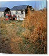 Red Tractor 5 Canvas Print