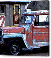Red Truck 32 Canvas Print
