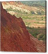 red Tsingy landscape Madagascar 2 Canvas Print