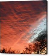 Red Velvet Sky Canvas Print