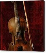Red Violin Canvas Print